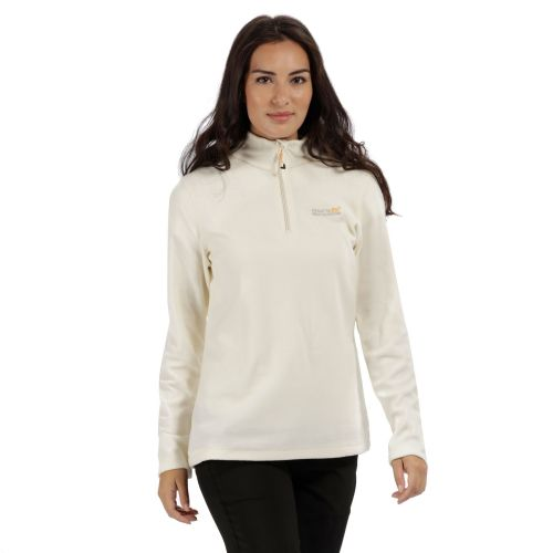 Regatta SWEETHART HALF ZIP LIGHTWEIGHT FLEECE - Polar Bear